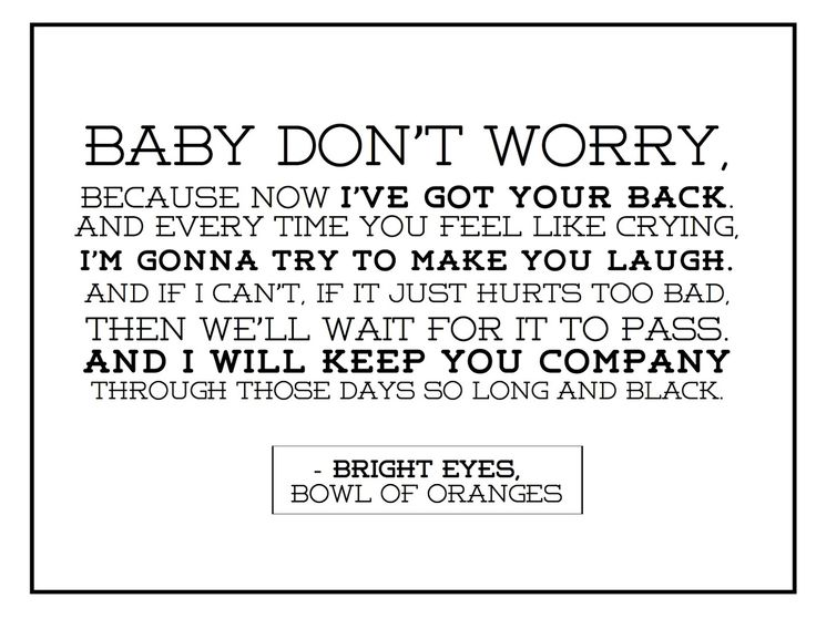 Free Bright Eyes printable. Visit www.hambeltons.blogspot.com for a free printable quote every Monday.
