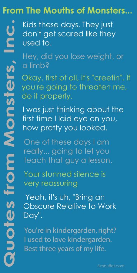 Pictures of Quotes From Monsters Inc - #rock-cafe