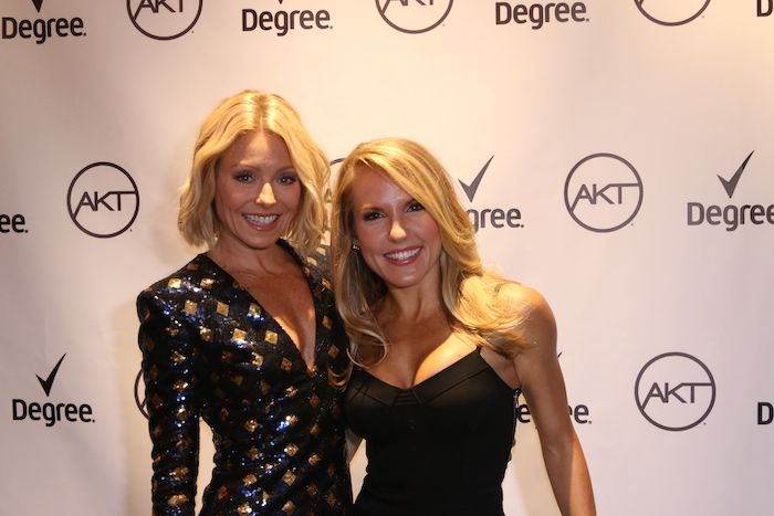 Starting with the fact that she wasn't born athletic or very active at all. Really. #GoodSweat @kellyripa @aktinmotion