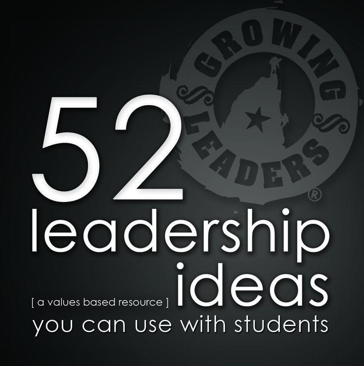 Free Leadership Resources | Leadership Ideas | Leadership Articles |Growing Leaders
