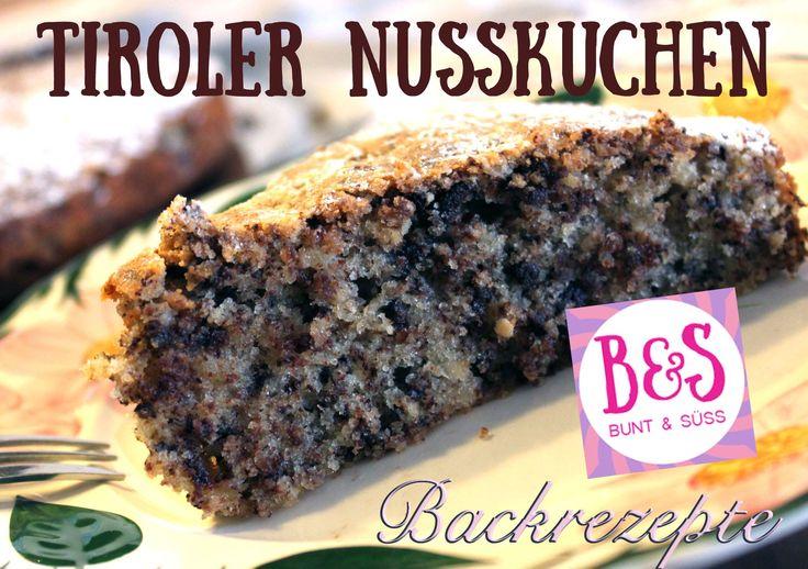 Tiroler Nusskuchen: Saftiger Rührkuchen mit Schokolade und Haselnüssen