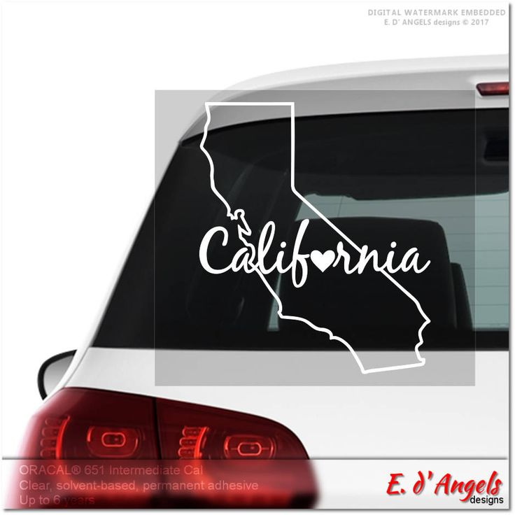 Excited to share the latest addition to my #etsy shop: California decal, car decal, cute car decals, car decals for girls, funny car decals, vinyl decal car, custom decals, vinyl car decal http://etsy.me/2CBJJKz #everythingelse #californiadecal #cardecal #cutecardecals