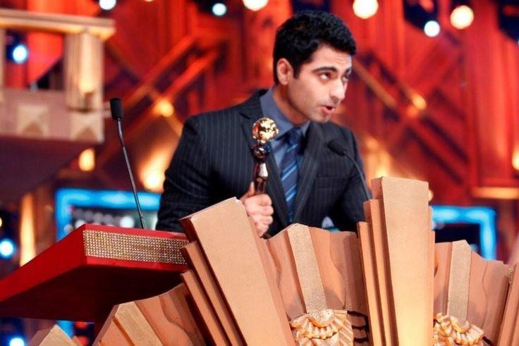 Harshad Arora at the Zee Gold Awards
