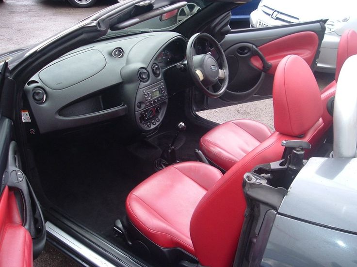 Ford StreetKA / Grey / Top Down / Red Int.
