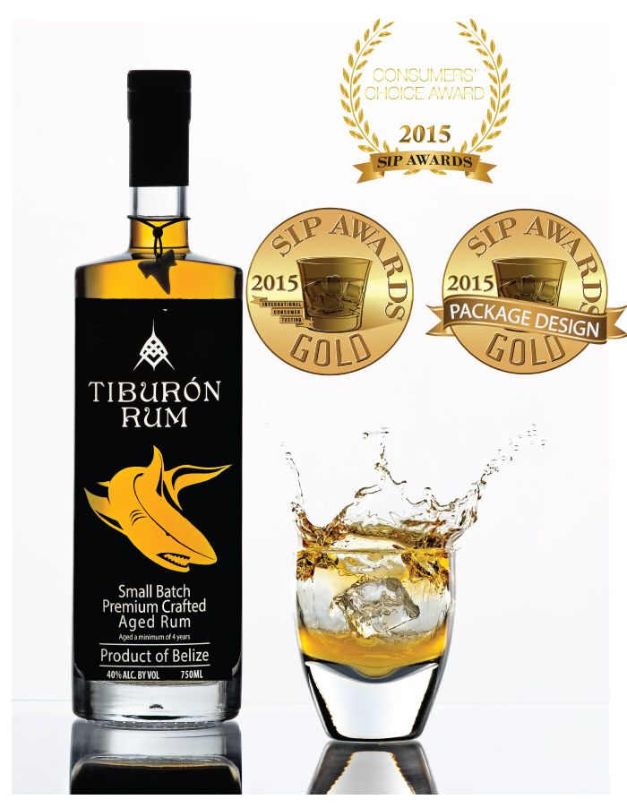We just won 2 Gold Medals for our rum and packaging !!  At the 2015 SIP awards
