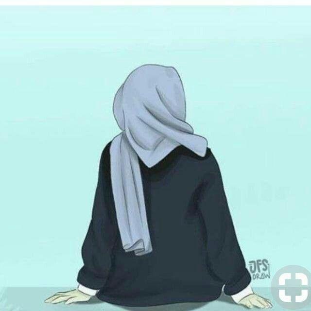 Hijab Girl Wallpaper Anime Hijab Keren