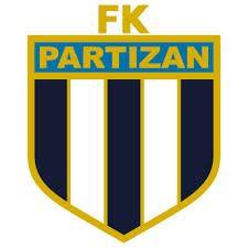 FK  PARTIZAN  BEOGRAD   old logo 70's
