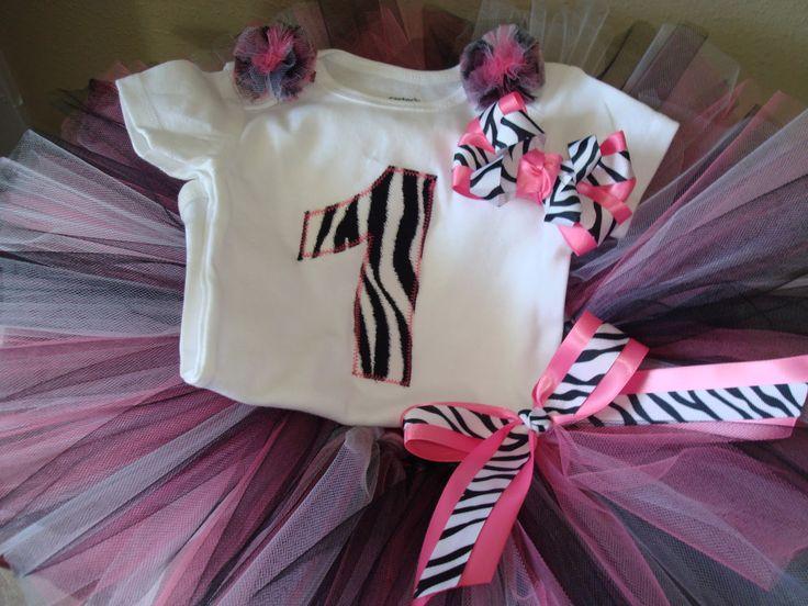7 best Diva Zebra 1st Birthday Party images on Pinterest 1st