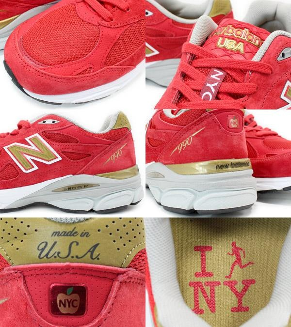 new balance m990 nyc marathon pack