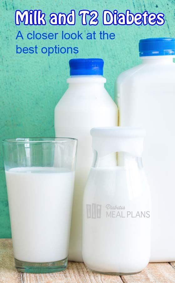 Milk and type 2 diabetes: A closer look at the best options