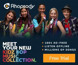Great Free Trial for Your Kids Music Collection. Go To: www.giveit2me.biz to Get Yours