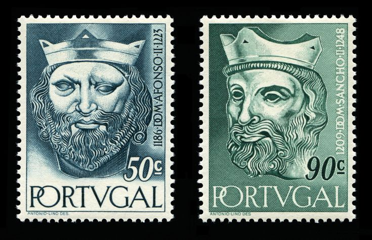 1ª Dinastia de Portugal - Dinastia Afonsina - D. Afonso II (1185-1223), o Gordo - e - D. Sancho II (1209-1248), o Capelo