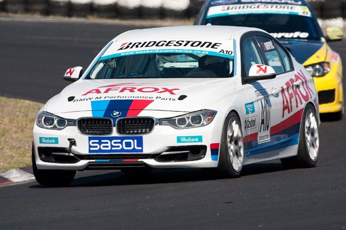 2012 BMW 335i - Killarney, race car debut and win, world first