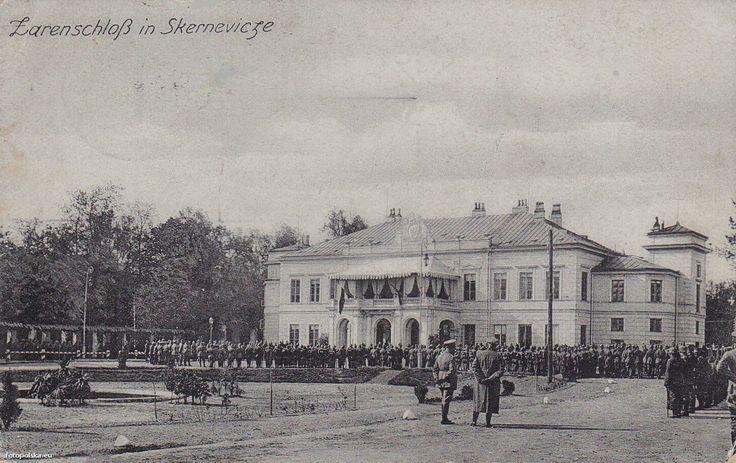 Pałac Prymasowski (Pałac Cesarski), Skierniewice - 1916 rok, stare zdjęcia