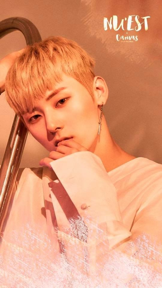 NU'EST Love Paint Wallpaper - Minhyun
