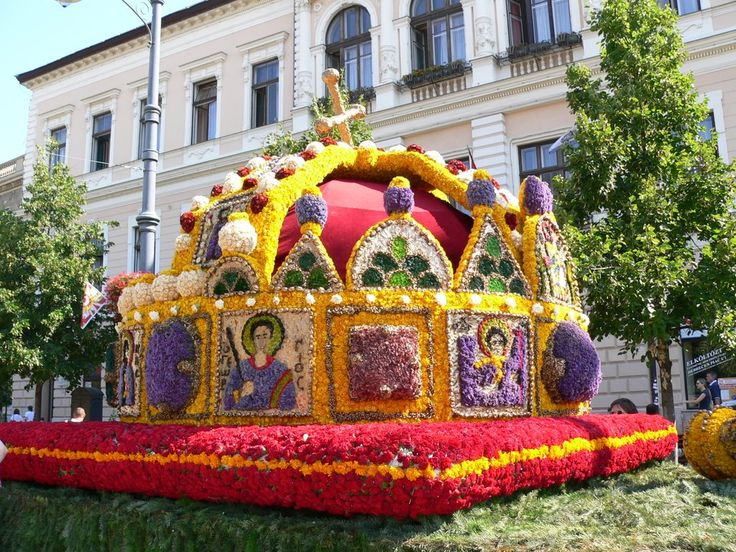 The Debrecen Flower Festival. Hungary