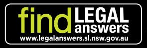 Find Legal Answers book sticker