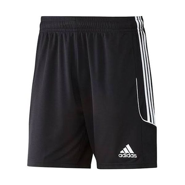 Let him kick with confidence in the adidas youth Squadra 13 Soccer Short. The short is made of 100% polyester double knit for comfortable wear and features climalite® fabric technology that wicks away