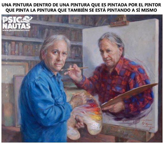 Una pintura dentro de una pintura…