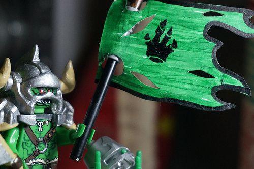 Lego MOC of the Week - Custom Orc