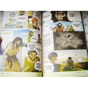 Manga Mesias / Tagalog Language Edition / Great for reaching out to Filipino teens / The Story of Jesus in Tagalog / Comic Strip Gospel   $34.99