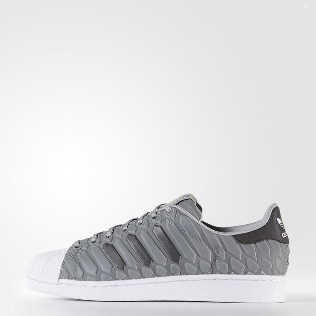 adidas Superstar Shoes - Grey | adidas UK