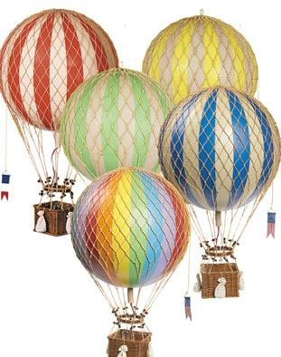 balloons!: Nurseries Decor, Balloon Mobiles, Balloon Decor, Royals Aero, Hotair, Vintage Hot, Baby Rooms, Hot Air Balloons, Products