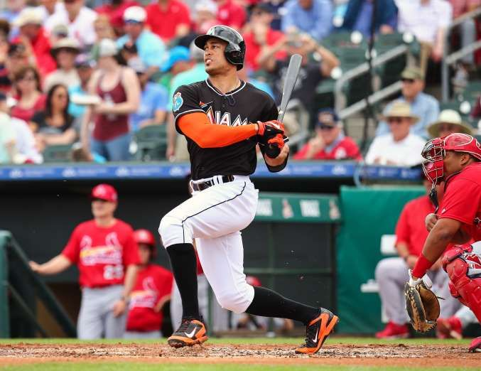 MLB trade rumors: Stanton, Donaldson headline hitters who could be dealt  -  November 8, 2017.  GIANCARLO STANTON, RF, MARLINS  -   Contract status: Guaranteed $295 million through 2027. $25 million club option for 2028 ($10 million buyout). Can opt out after 2020 season. Full no-trade protection.