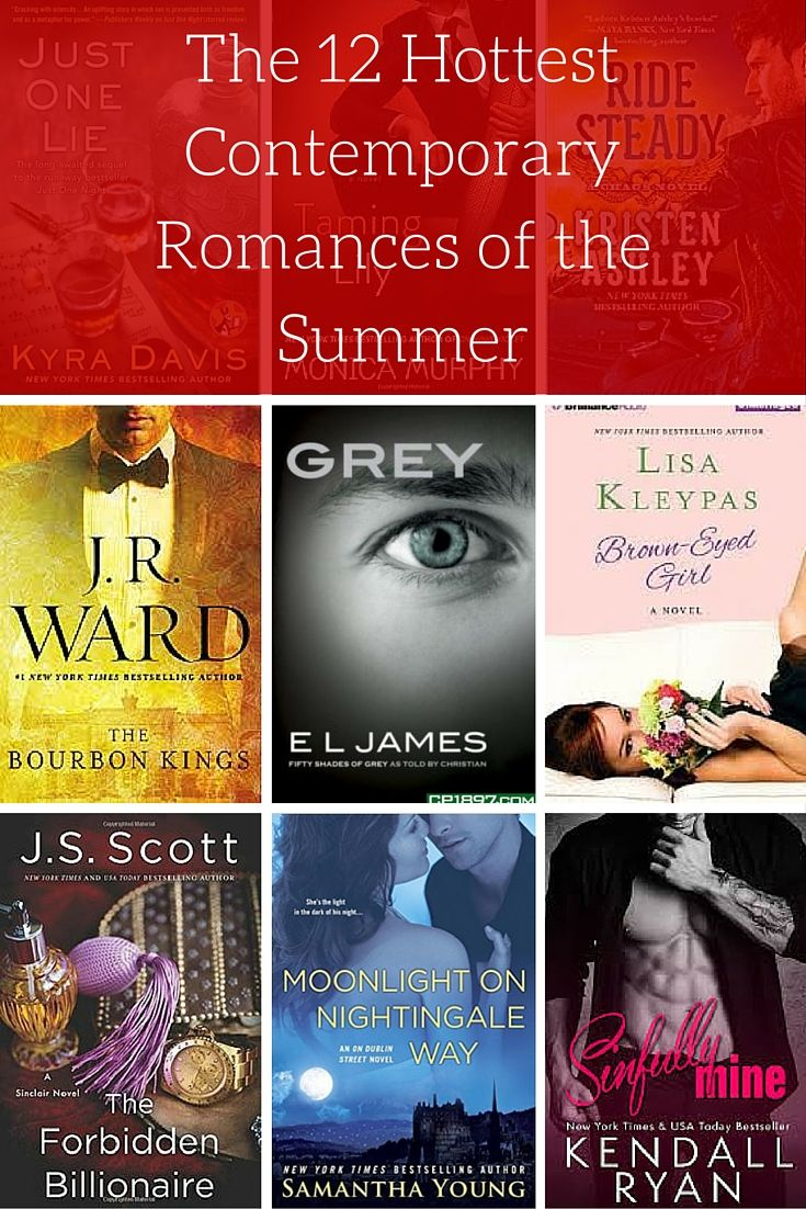 The 12 Hottest Contemporary Romances of Summer 2015: These were the hottest romance new releases of the summer reading season.
