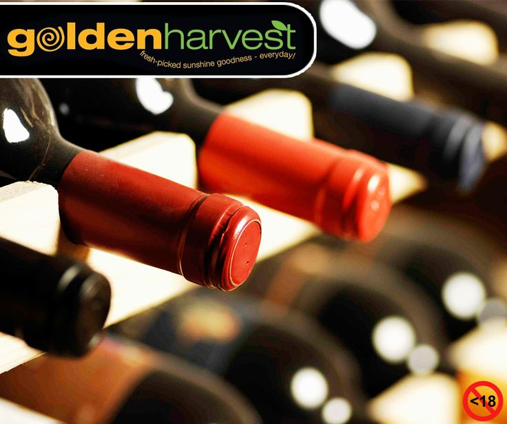 We stock a great selection of wine. Pop in today at our #WineBoutique or visit us at the #EdenMeanderLifestyleCentre for the perfect wine of your choice and great specials. Alcohol not for sale to persons under the age of 18. #WineWednesday #GoldenHarvest