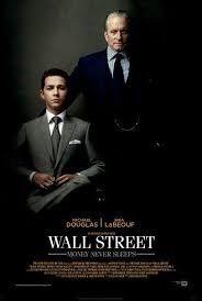 Wall Street : el dinero nunca duerme . Sign. : T DVD Speak Up 310 . +info. : http://encore.fama.us.es/iii/encore/record/C__Rb2260183