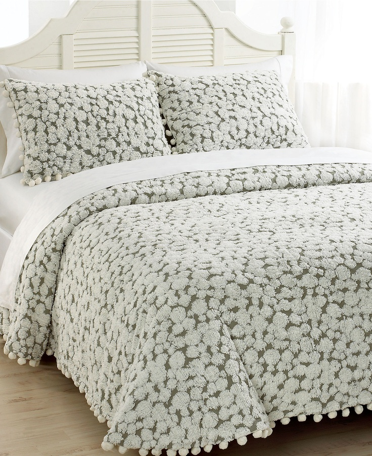 Macy 39 s tufted chenille bedspread city living pinterest for Chenille bedspreads