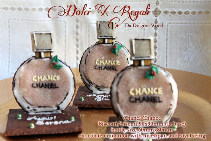 """""""Fake"""" 3D Chanel Chance bottle - marzipan/marzapane"""