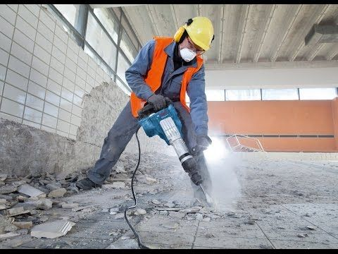 Bosch Blue Professional - GSH 11 VC Demolition Hammer product review by WhatTradiesWant - YouTube