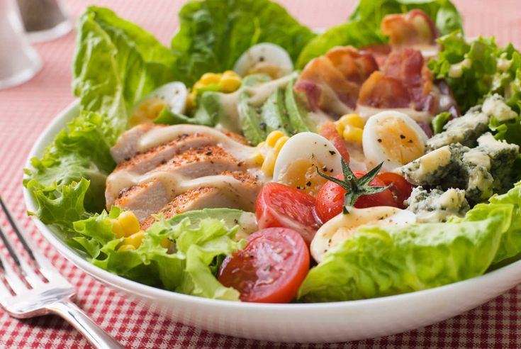 Ensaladas purificantes y dietéticas
