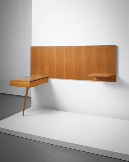 Gio Ponti, Unique wall-mounted shelf-unit, designed for an office of a law firm, Milan
