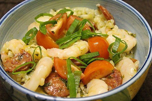 Prawn, Chorizo & Kale Rice Cooker Risott - Best Chef Recipes | A Perfect Pantry - Kambrook
