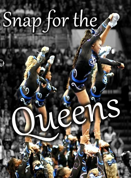 The Queens, the divas of F5The Queens, Cheerleading 33, Cheer 3, Cheerleading3, Danger Sports, Cheer Life, The, Ready 1 2, Role Models