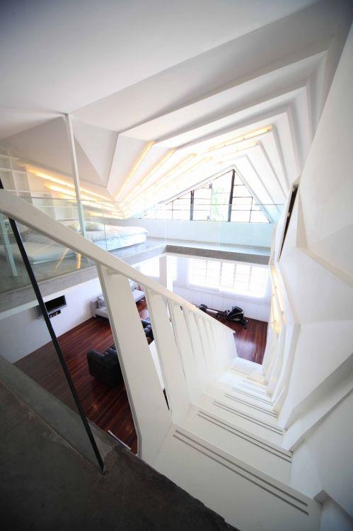 Un escalier hallucinant