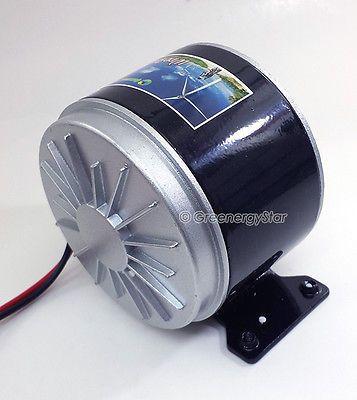 WindRex 350W 12V/24V DC Permanent Magnet Motor Generator for Wind Turbine PMA