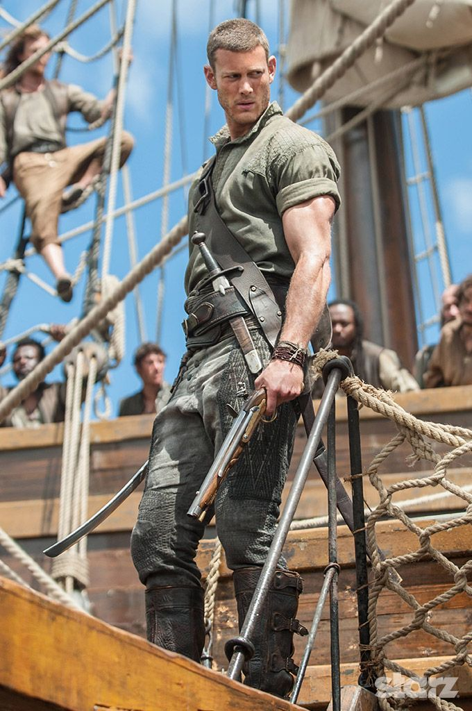 Billy Bones (Tom Hopper) - a tall drink of water