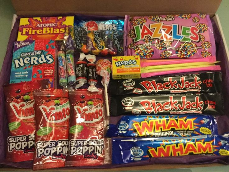 American Sweets Gift Box  USA Candy Hamper  Wonka Nerds & uk Present Christmas  #Unbranded