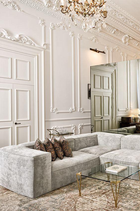 50+ ist die Elegante Zeitgemäße Ideen für Ihr Wohnzimmer