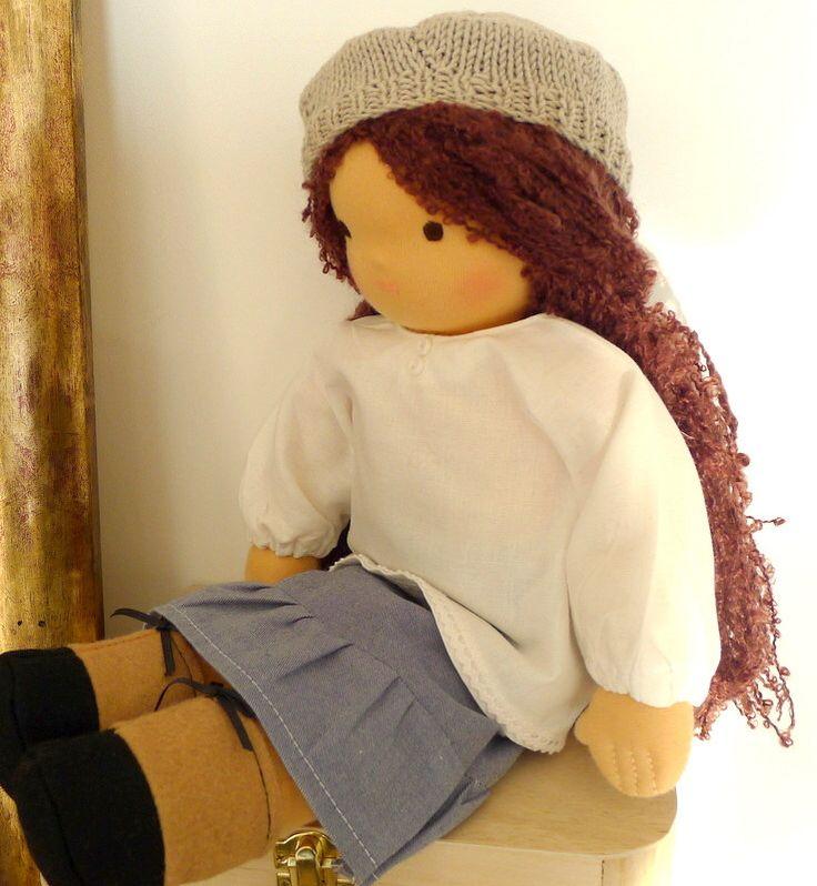Waldorf doll 40 cm by Littlemissw on Etsy https://www.etsy.com/listing/219708160/waldorf-doll-40-cm