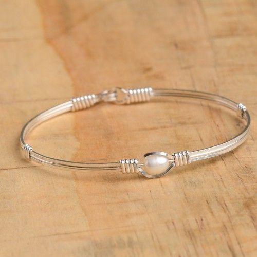 Ronaldo Bracelet Pearl of My Heart Silver