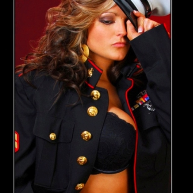 Marine wife!! I love this picture!!!