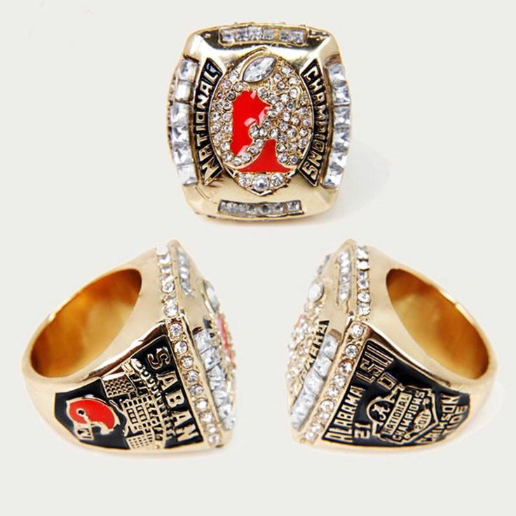 Alabama Crimson Tide National Championship Football Ring – Best Funny Store