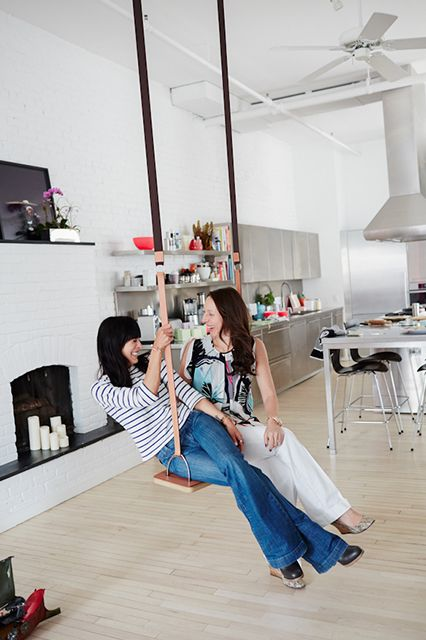 A Modern NYC Loft That Will Make Your Jaw Drop #refinery29 http://www.refinery29.com/eye-swoon/41#slide3