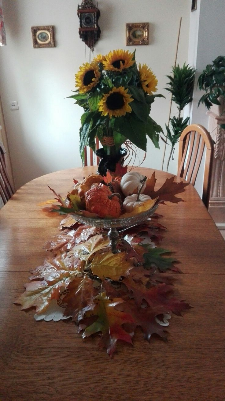My small autumn at home