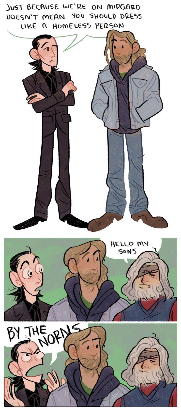 """lousysharkbutt: """"like father like son"""" (http://lousysharkbutt.tumblr.com/post/159314906530 )"""